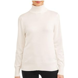🍁2 for $10🍁Time and Tru Ivory Turtleneck Sweater
